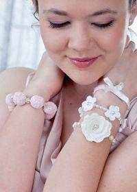 Crochet Bracelets: Free crochet patterns