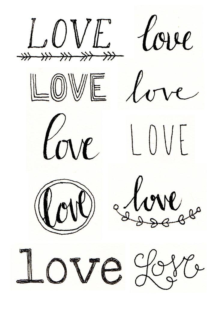 Megan Wells – Love Doodles #love By makewells