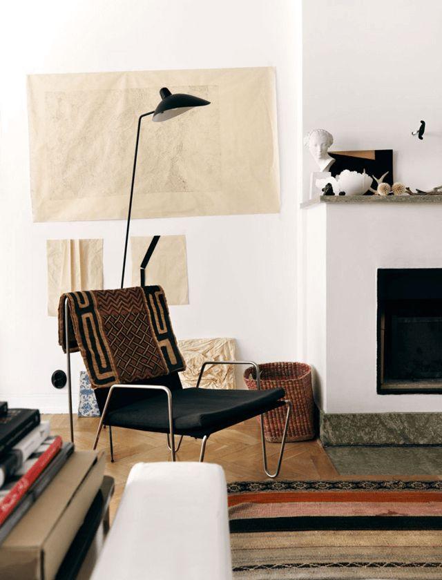 House Of C | Interior Blog: Artistic Apartment Of Swedish Fashion Designer