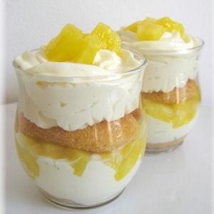 Tiramisu ananas - Recettes de desserts d'hiver - Journal des Femmes Cuisiner. Plus de recettes ici : http://www.ilgustoitaliano.fr/recettes/i-love-tiramisu #recette #tiramisu