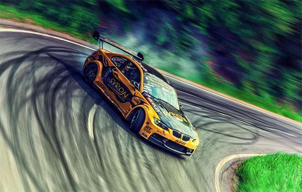 Drifting cars: 20 truly breathtaking photos from around the world - Blog of Francesco Mugnai