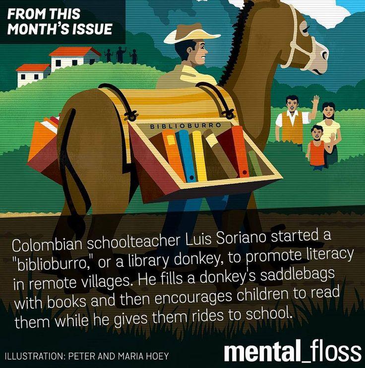 The biblioburro!