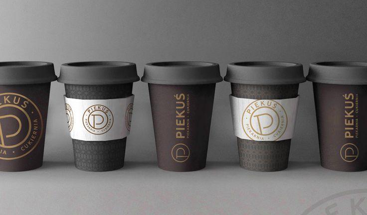 "New branding project. Bakery - pattiserie - cafe. ""Piekus"""