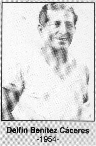 Delfín Benítez Cáceres 1954