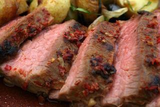 Harissa-Marinated Tri-Tip Roast
