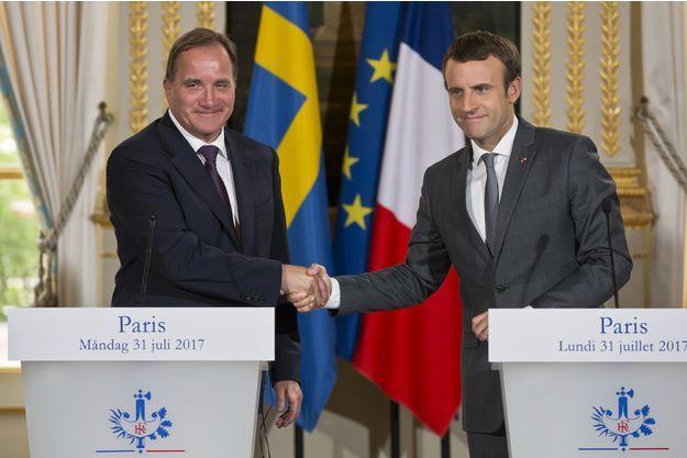 """Emmanuel Macron veut s'inspirer du """"modèle suédois"""""""
