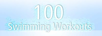 logo for 100 swimming workouts
