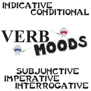 Subjunctive, Conditional, Indicative, Imperative, Interrogative Verb Moods  This mini-unit is guaranteed to engage your students in their learning of verb moods. We don't know about you, but we've had a hard time finding quality resources for subjunctive, conditional, indicative, imperative, and interrogative verb moods for middle and high school students.   So we made our own!   * Engaging graphics! - Calvin & Hobbes comic strips * Quality practice! - 42 pages/slides * Solid PowerPoints!