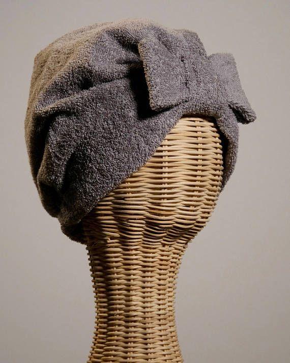 Bandalina Bath Turban Grey