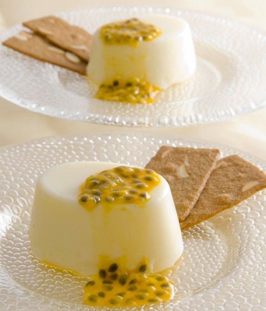 PASSION FRUIT PUDDINGS...