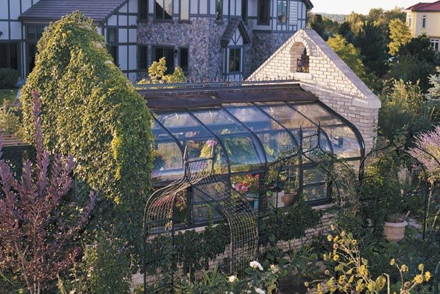 No big deal, just my castle and greenhouse.