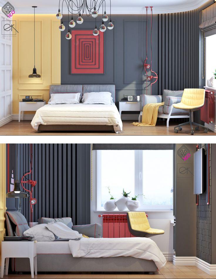 Дизайн детской комнаты для мальчика подростка. - Галерея 3ddd.ru