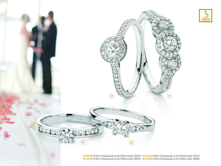 9ct Gold engagement rings priced from AU$1499