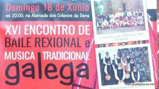 Encontro de Baile e Música Galega 18jun'17 _evento 18jun 2017 24sem AgendaVGA domingo evento fiesta meaño