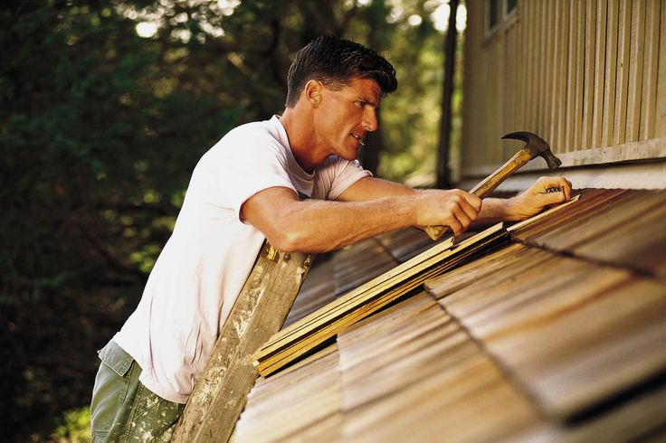 A person can fix everything with DIY. This also means climbing on the roof with nails and a hammer to repair some loose tiles.