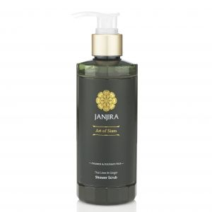 Thai Lime and Ginger Shower Scrub http://www.janjira.co.uk/products/view/19/Thai_Lime_and_Ginger_Shower_Scrub
