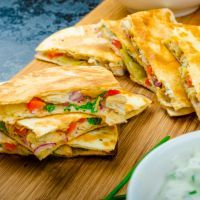 Copycat Ruby Tuesday's Santa Fe Chicken Quesadilla Recipe