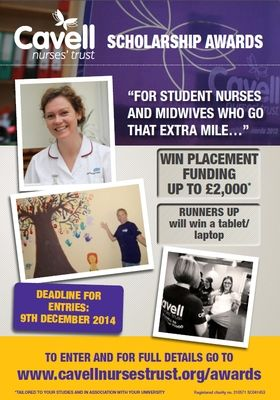 Cavell Nurses' Trust Scholarship Awards are now open! - Latest news | Cavell Nurses' Trust