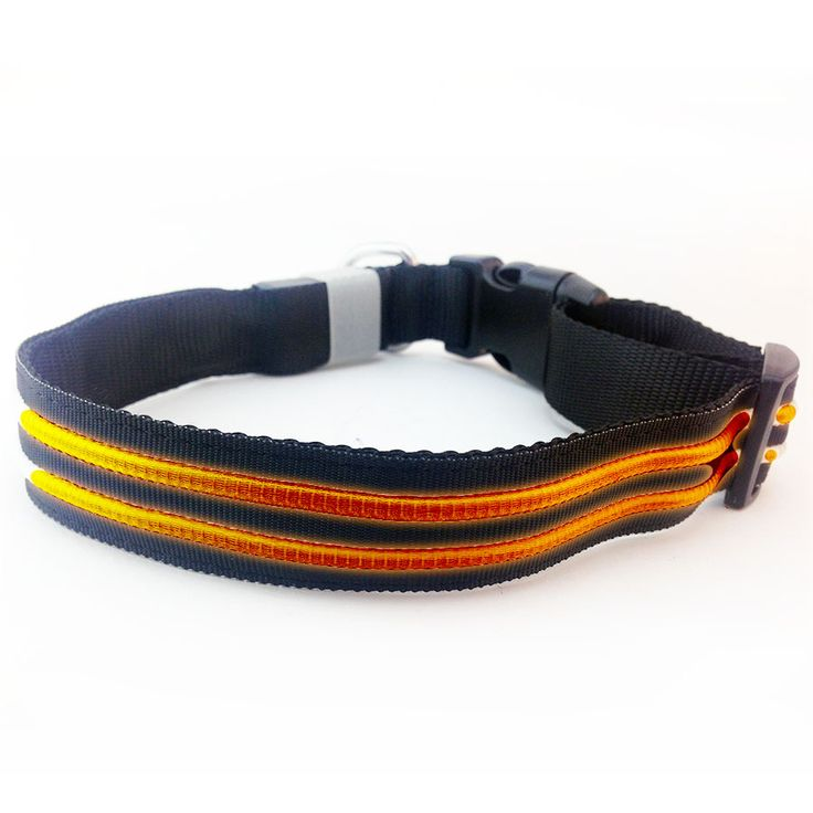 www.ledhondenhalsband.nl Led verlichte halsband waterproof + USB oplaadbaar