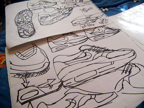 Air Max Sketches