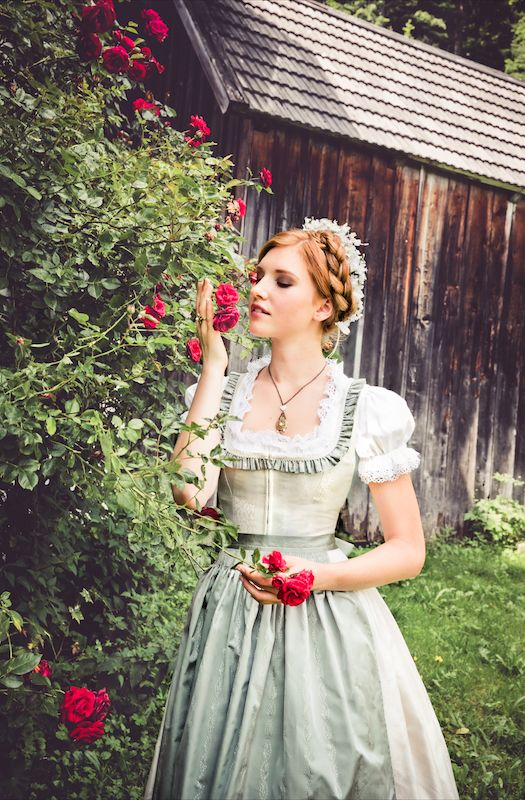"""Lena Hoschek Tradition S/S15 """"Dirndl Gloria""""  www.lenahoschek.com"""