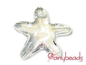 Moonlight - Austrian Swarovski Crystal Elements 6721 Starfish Pendant 20mm