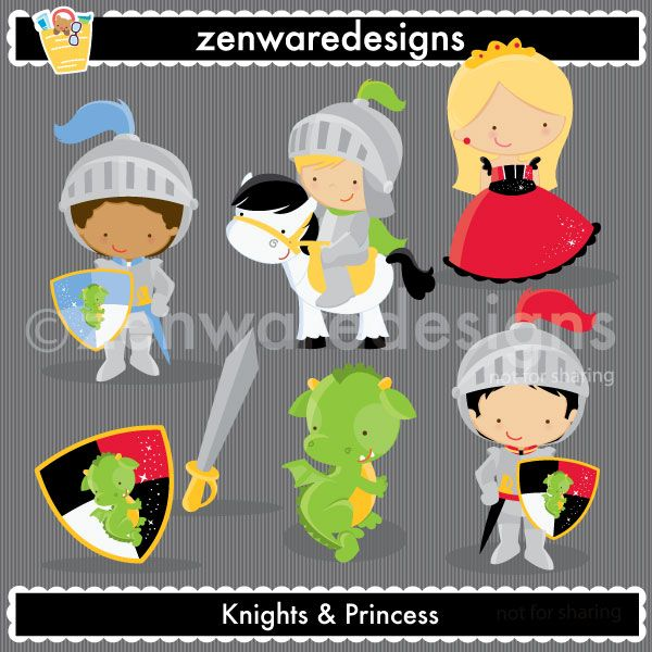 Description: Little Knight icons for your daring adventurer! This set is perfect for party invitations, gift bags and more! The simple lines are great for embroidery as well! There is even a little princess included for that sweet sister!