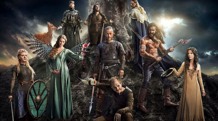 The series tells the saga of Ragnar's band of Viking brothers and his family as he rises to become King of the Viking tribes. Description from pinterest.com. I searched for this on bing.com/images