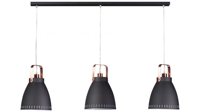 Hanglamp Acate Black Copper
