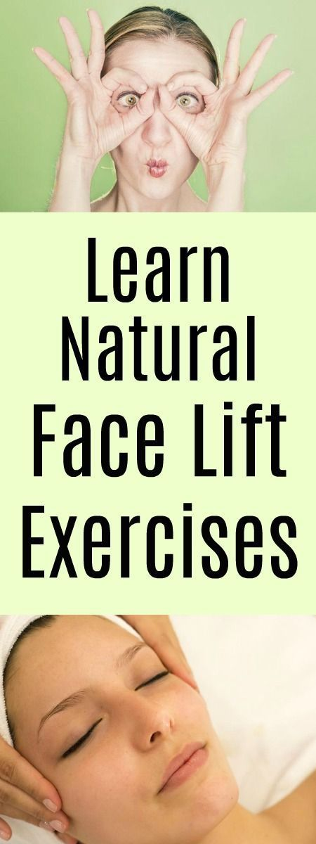 Keep your skin fresh and healthy with natural face lift exercises. #SkinTighteni…