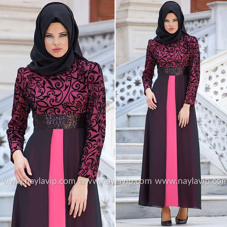 NAYLA COLLECTION - EVENING DRESS - 4109P #hijab #naylavip #hijabi #hijabfashion #hijabstyle #hijabpress #muslimabaya #islamiccoat #scarf #fashion #turkishdress #clothing #eveningdresses #dailydresses #tunic #vest #skirt #hijabtrends