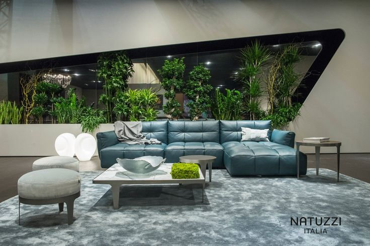 Natuzzi's Herman is not just a sofa: it is an interior design system made up of different elements that can be combined in various configurations or used alone.  #ItalianLuxurySofas #ItalianDesignerSofas