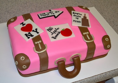 Suitcase Cake -- this will be my inspiration