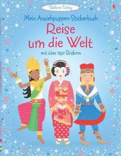 Büchereckerl: Mein Anziehpuppen-Stickerbuch – Reise um die Welt