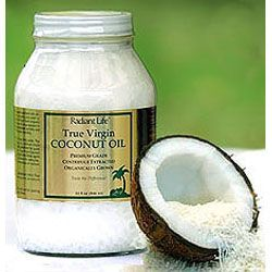 We just can't say enough about coconut oil! Radiant Life's true virgin, centrifuge extracted coconut oil is selected for exceptional quality and freshness. Use it in cooking, for the skin or for the hair!