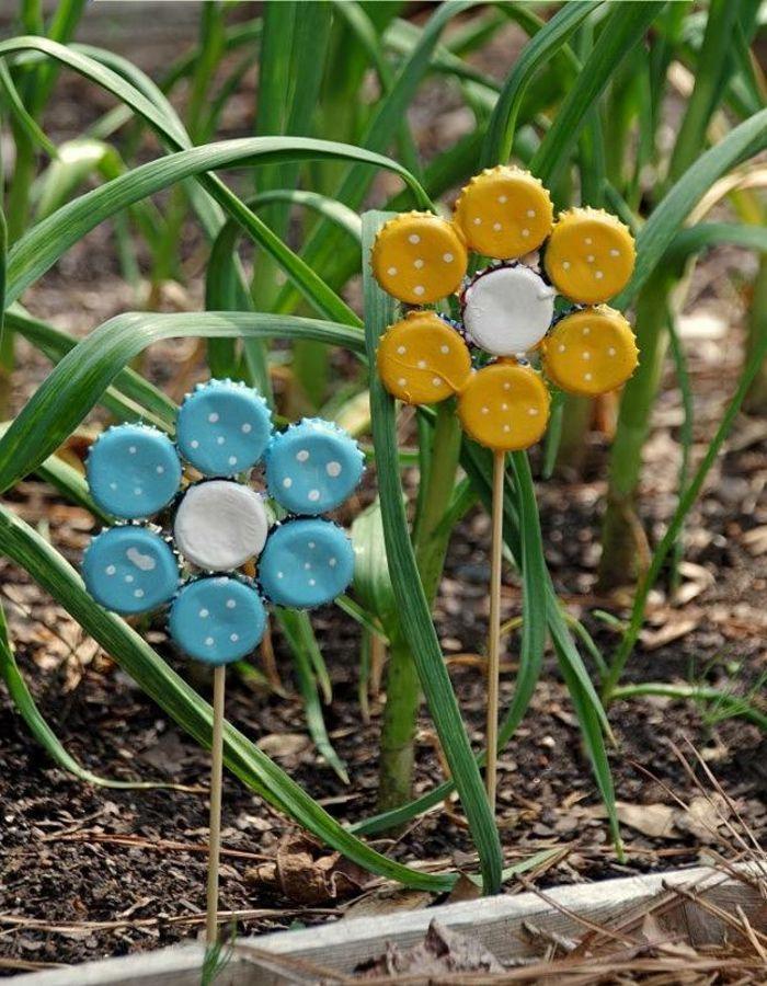 ▷ 1001 + idées de déco jardin avec objets de récupération | Jardin ...