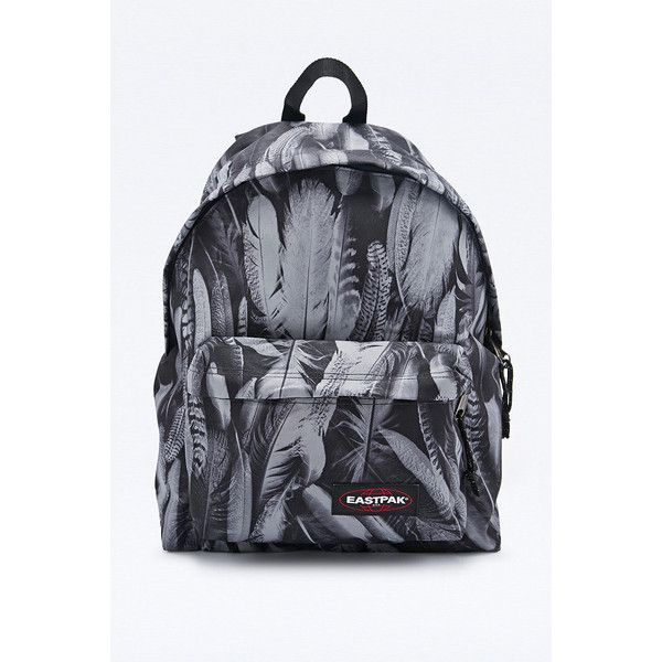 Shop Eastpak Pak R Feather Print Padded Backpack in Grey at Urban  Outfitters today. We carry all the latest styles, colours and brands for  you to choose ... 9f802e679760