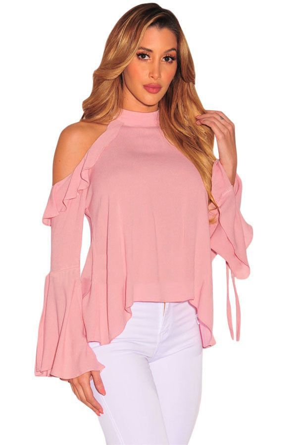Try latest Chicloth Pink Sex.... http://chicloth.com/products/chicloth-pink-sexy-flirt-cold-shoulder-ruffle-flare-sleeve-top?utm_campaign=social_autopilot&utm_source=pin&utm_medium=pin