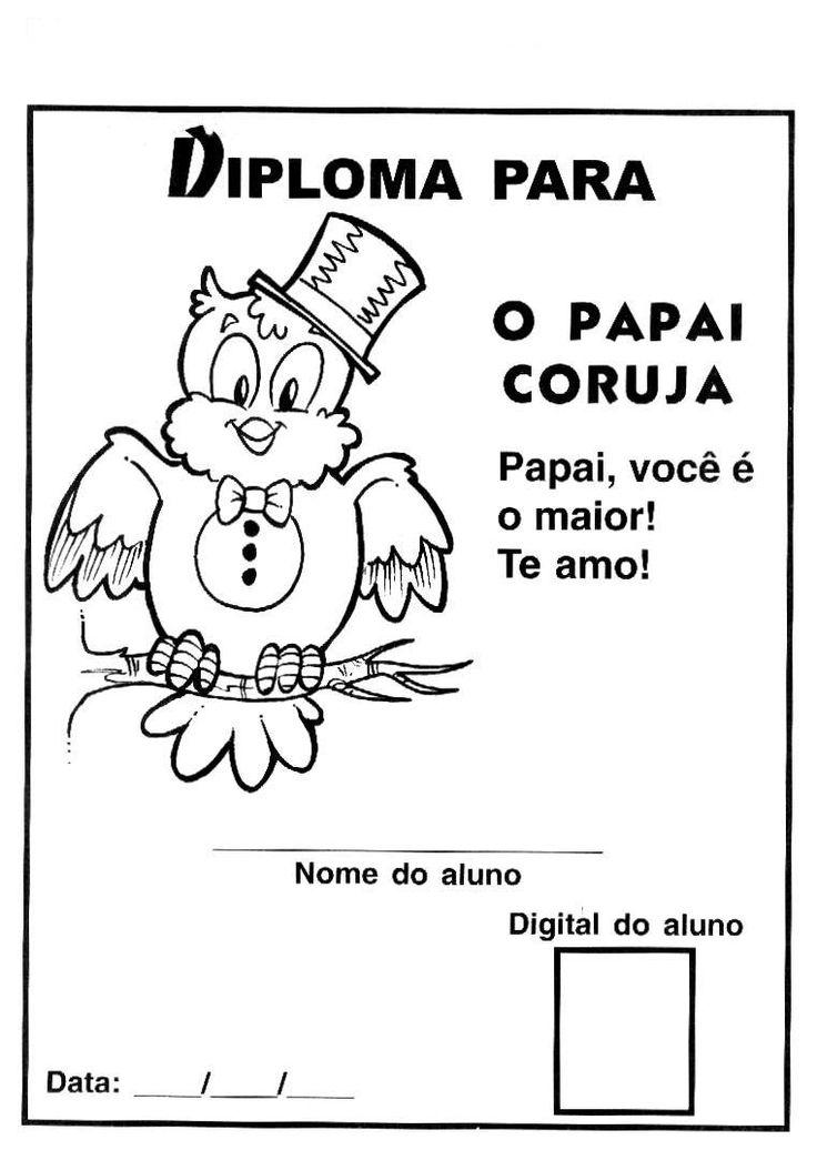 diploma dia dos pais