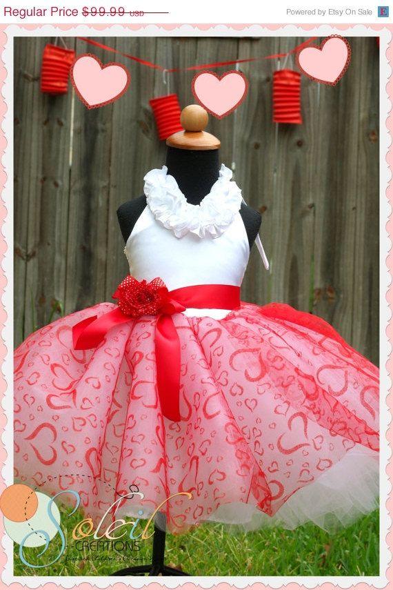 girls valentines day tutu dress by scbydesign on etsy