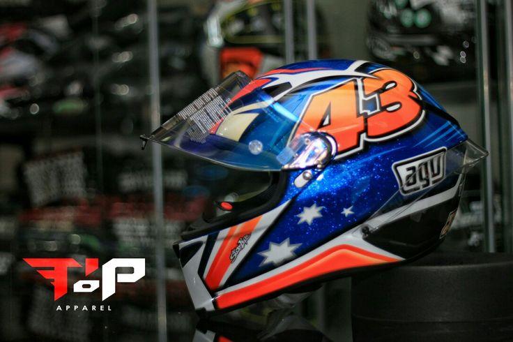 AGV corsa 43 Jack miller #teamtiptop #agvhelmets #agvrider #corsa #corsa43 #jackmiller #jackass