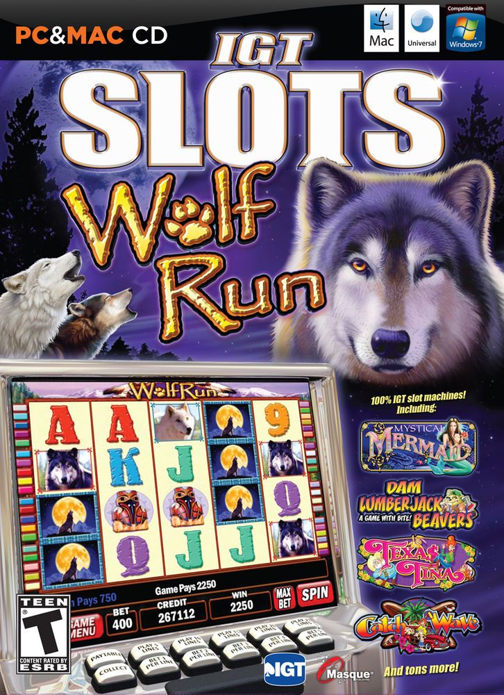 IGT Slots: Wolf Run (Windows/Mac, 2010) #videogames #computergames