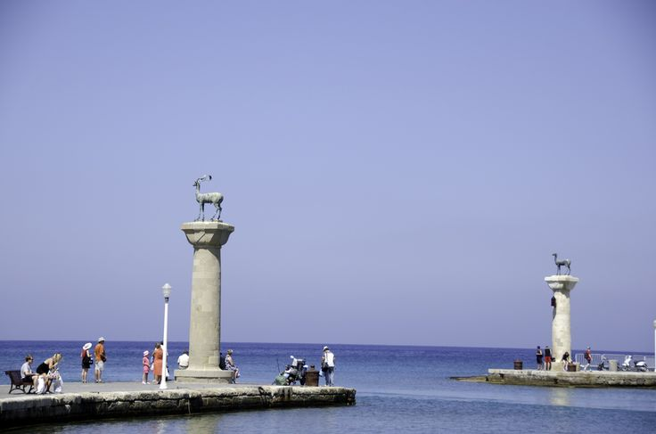The Colossus in Rhodes was said to be situated at the entrance to the harbor in Rhodes Town. But was it? More here!  https://theislandofrhodes.com/the-colossus-in-rhodes