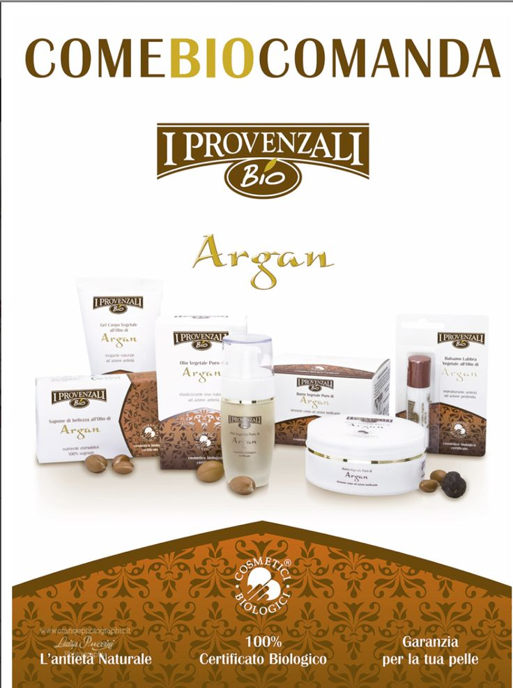 Advertising for I Provenzali Bio Concept: www.pinxitadv.it Photo: www.luisapuccini.it