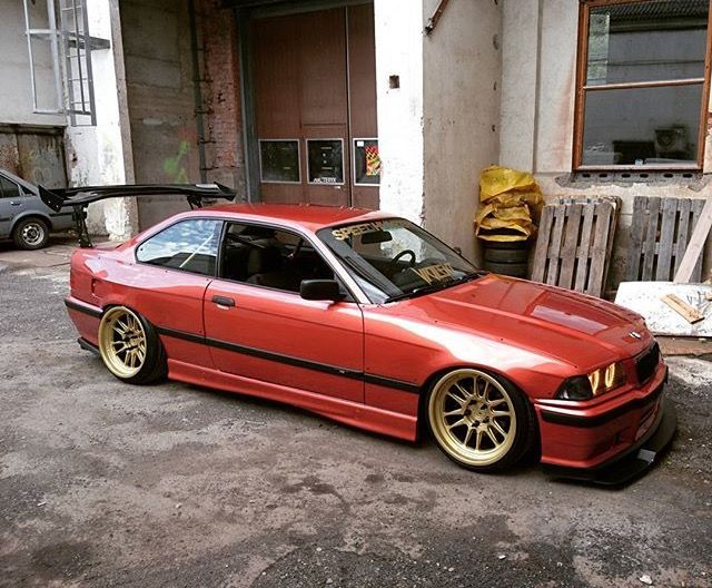 #BMW_E36 #Modified #Slammed #Stance