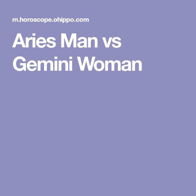 Aries Man vs Gemini Woman