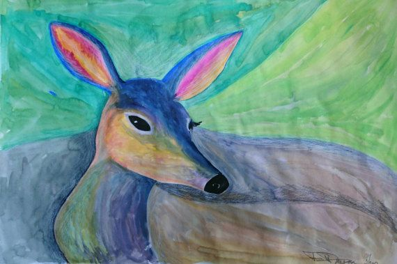 Check out this item in my Etsy shop https://www.etsy.com/uk/listing/510302951/its-a-deer-in-coloured-world-quite