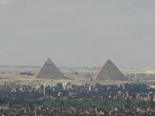 The Pyramids of Gizah. .