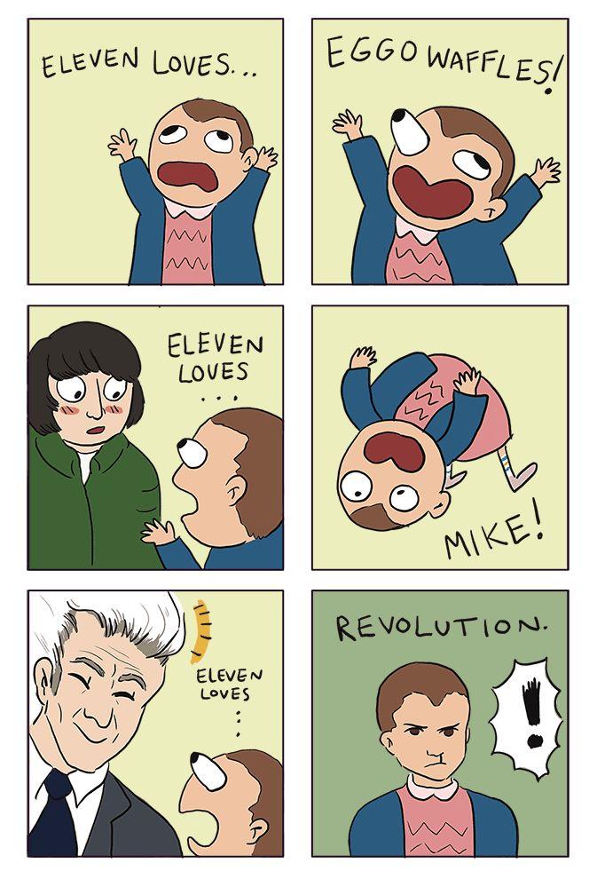 Things Eleven Loves - Stranger Things