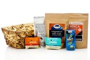 Gym Junkie Gift Basket - know a gym goer or someone living a fit and healthy lifestyle? This is the perfect gift for them #healthyandfit #organic